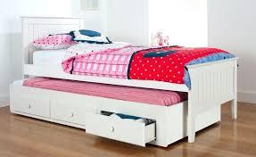 Trundle Bed For Girl Bedroom Furniture Hardwood Kids Bed Set The ...