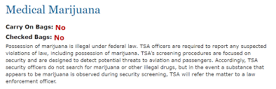 Medical Is What On Policy Marijuana The With Flying Tsa