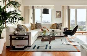 Brilliant Living Rooms With Sectionals With White Modern Sectional Sofa In  Stylish Living Room Sectional Couches For Small Spaces Modern White Sofa  For ...