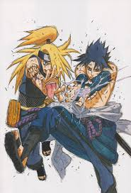 i love the artist masashi kishimoto the creator of this manga his visual style and skill with traditional ums like ink and coloured markers is