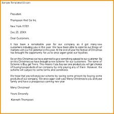 Merry Christmas Letter Sample Leanjava