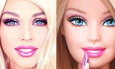 barbie doll makeup transformation