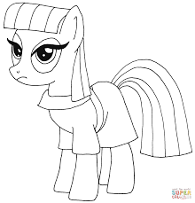 Small Picture My Little Pony Pinkie Pie coloring page Free Printable Coloring