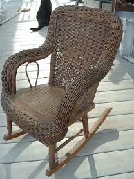 1880 s heywood wakefield childs wicker rocker wicker furniture