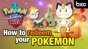 How to redeem your MYSTERY GIFT in Pokemon Sword & Shield - YouTube