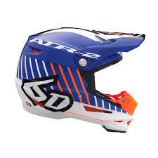 6d Atr 2 Motion Orange Helmet