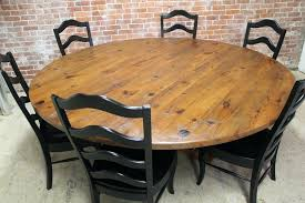 round dining table for large round rustic dining tables best gallery of tables furniture throughout round dining table