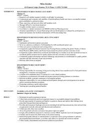 Shift Registered Nurse Resume Samples | Velvet Jobs