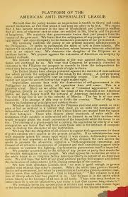 the spanish american war and the anti imperialism league  from carl schurz the policy of imperialism address by hon carl schurz at the anti imperialist conference in chicago 17 1899 chicago american