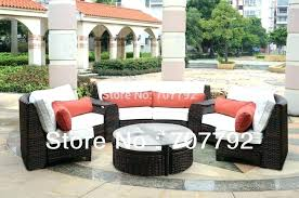 home depot patio sectional curved sectionals modern outdoor resin wicker sectional set 6 piece sofa home