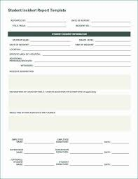 60 Incident Report Template Employee Police Generic Template
