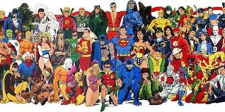Image result for lots of superheroes