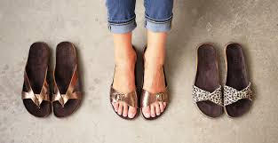sandal with flexi wooden high heel veggie dyed leather