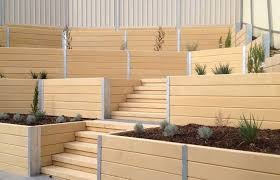 concrete sleepers and retaining walls