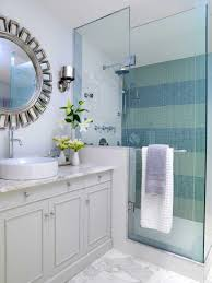 Uncategorized, Amazing Smart Colors Schemes Small Bathroom Decorating Ideas  For Stylish Bathrooms With Round Mirror
