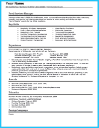 Catering Job Description For Resume Awesome Expert Banquet Server Resume Guides You Definitely