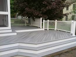 gray composite decking. Wonderful Composite Gray Composite Decking Good Looking Trex Decoration Ideas Alluring  Brown Color Throughout M