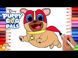Puppy Dog Pals Hissy Coloring Page Puppy Dog Pals Coloring Book Draw