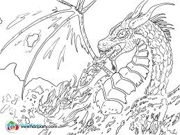 Legend Of Zelda Coloring Pages New Fire Breathing Dragon Coloring