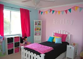 Pink And Blue Girls Bedroom Blue And Purple Bedrooms Zampco