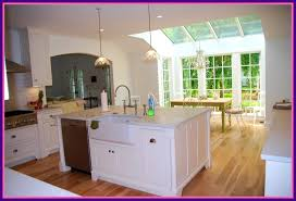 kitchen island ideas with sink. Wonderful Ideas Kitchen Sink Island Cabinet Ideas Design Plans Oak  With Breakfast And Sink