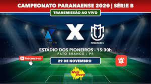 Azuriz 0x1 Maringá FC |AO VIVO FINAL| PARANAENSE - Série B - YouTube