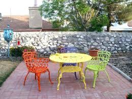 painted metal patio furniture. How To Paint Wrought Iron Patio Furniture Painting  Painted Metal T
