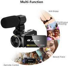 Camcorder Videokamera für YouTube, Vlogging Kamera mit: Amazon.de: Kamera
