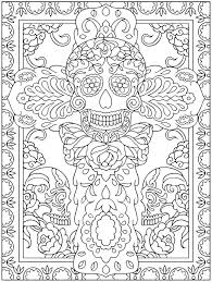 Dia De Los Muertos Printable Free Coloring Pages On Art Coloring Pages