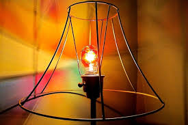 stained glass light bulb glows prettily well sort of homejelly images navigation mini parchment lamp shades primitive paintable