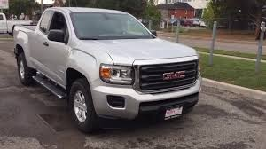 2018 GMC Canyon Extended Cab 6 Speed Manual Transmission Silver ...