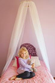 Easy DIY Princess Canopy - Creative Ramblings