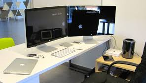 word 39office desks workstations39and. Dual Thunderbolt Displays And A Mac Pro Word 39office Desks Workstations39and
