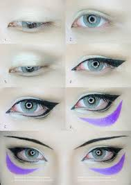 one punch man onsoku no sonic eyes makeup tutorial by mollyeberwein on deviantart
