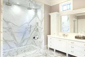 traditional master bathroom with dual rainfall shower and white marble luxury walk in showers design ideas marble master bathroom