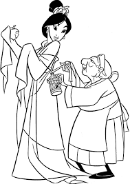 Small Picture Beauty Mulan Coloring Pages Cartoon Coloring pages of