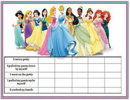 Details About A5 Print Children S Disney Princess Reward Chart C W Disney Princess Stickers