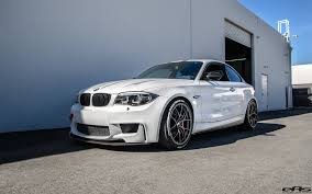 Coupe Series bmw 1 m : A Perfect Alpine White BMW 1M Project Showcase