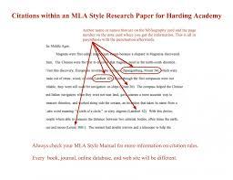 Citing Sources In An Essay Mla Applydocoumentco