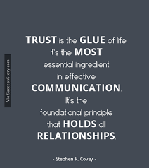 Quotes On Leadership Unique One Of The Most Vital Aspects Of Leadership Is TRUST Read Stephen