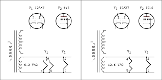 troubleshooting chapter eight faults in vacuum tube circuits b heater connections indicated by removing the heater from the tube symbol
