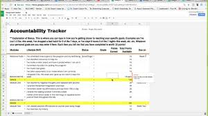Accountability Tracker And Weight Loss Record Tutorial Youtube