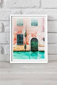original watercolor venice italy house ilration door window drawing city landscape europe paintring grand channel venice wall art a r t watercolor