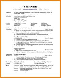 7 Samples Of How To Make A Professional Resume Examples Peppapp