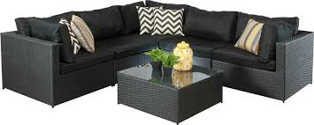 Wonderful Outdoor Wicker Patio Furniture  All Home DecorationsBlack Outdoor Wicker Furniture