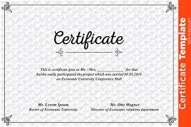 Psd Certificate Template Certificate Template PSD Templates Creative Market 2