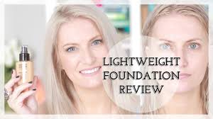 lightweight foundation routine mufe face body foundation review
