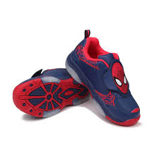 Spiderman Light Up Shoes Size 13 Shoes Trainers Up Sneakers Trainer Blue Red Footwear Blue