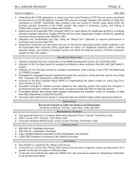 Resume Software Free Free Sample Resume For Software Engineer Cover Letter Template Design 8