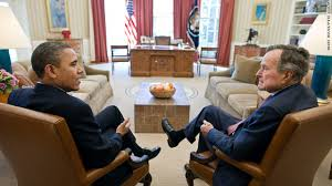 bush oval office. Presidents Meet In The Oval Office Bush E